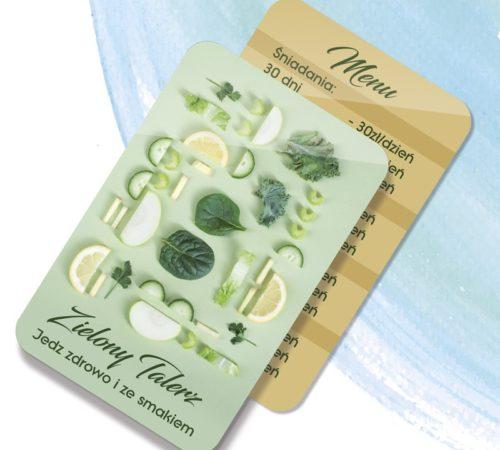 kalendarz listkowy Zielony Talerz