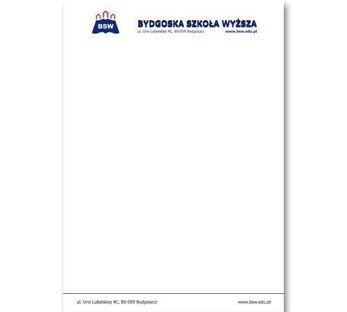 papier firmowy A4 BSW