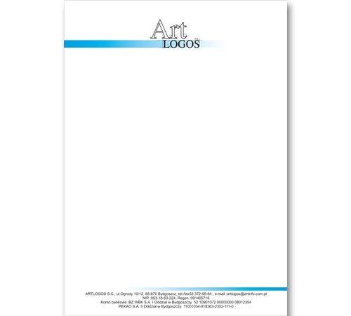 Art Logos papier firmowy A5