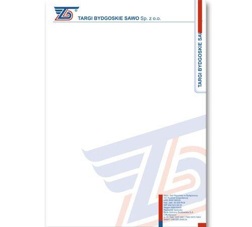papier firmowy Sawo format A5