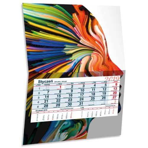 Kalendarz jednodzielny Max 30cm
