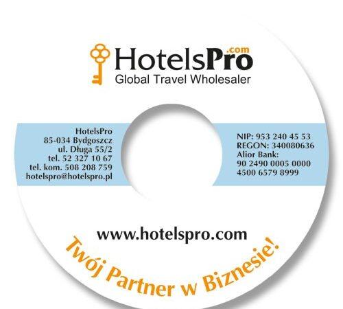 naklejka na płytę HotelsPro