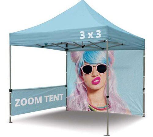 namiot reklamowy Zoom Tent 3x3