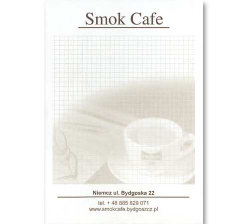 notes Smok Cafe format A6