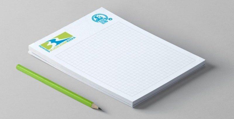 notatnik reklamowy klejony klasyczny