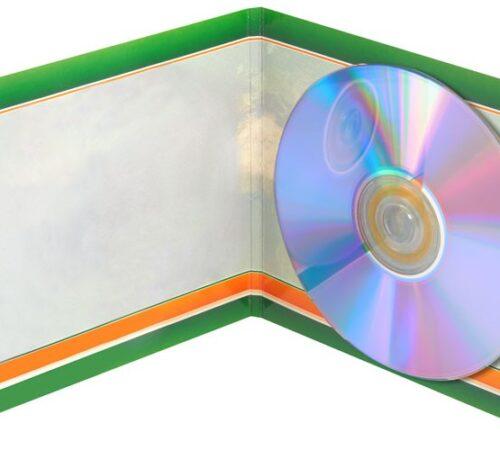 okładka cd dvd z klipsem