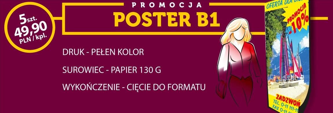 Promocja Poster B1