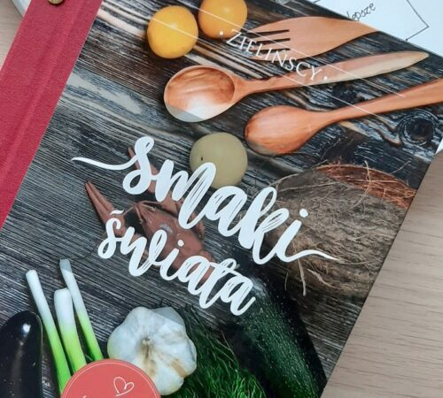 Personalizowany przepiśnik – zeszyt na przepisy kulinarne