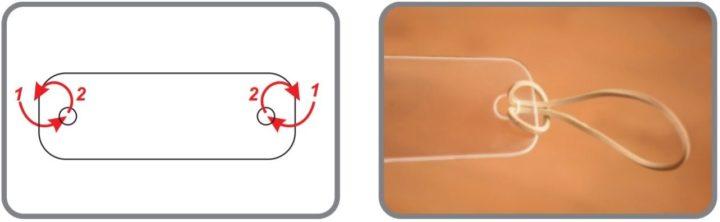 przyłbica ochronna na twarz - instrukcja składania krok 2