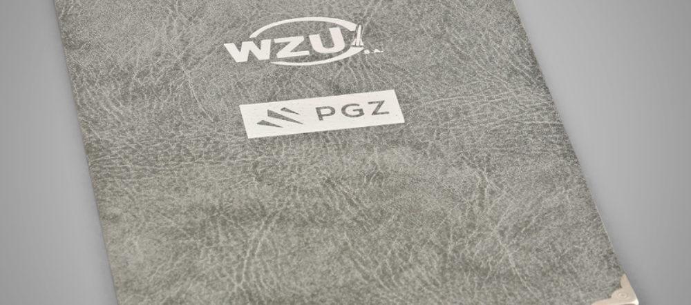Okładka na dyplom WZU