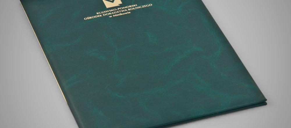 Okładka na dyplom ODR MINIKOWO