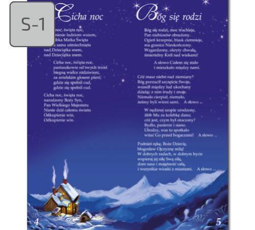 śpiewnik kolęd S-1 Cicha noc, Bóg się rodzi