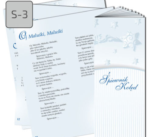 Śpiewnik kolęd S-3 Oj, Maluśki, maluśki