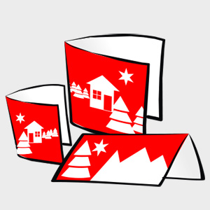 Kartki świąteczne z pejzażem