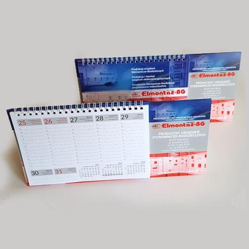 Kalendarz biurkowy TYGODNIOWY