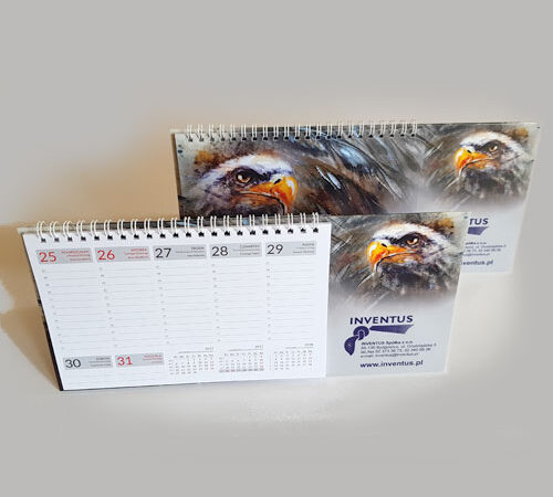 kalendarz biurkowy tygodniowy Inventus