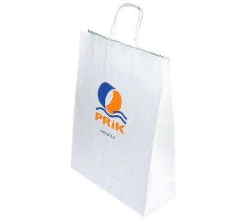 torba papierowa z nadrukiem firmowym XL-001