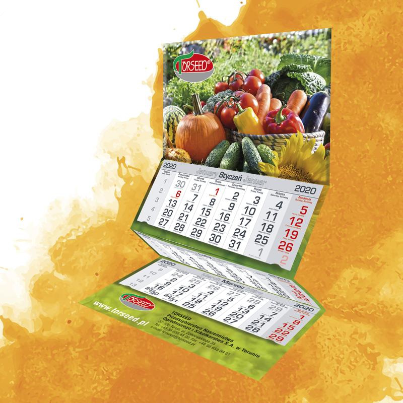 Kalendarz trójdzielny KLASYCZNY