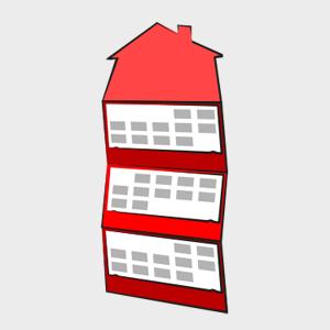 Kalendarz trójdzielny z główką w dowolnym kształcie