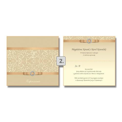 Zaproszenia ślubne i zawiadomienia
